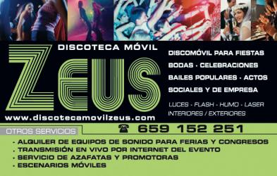 DISCO MOVIL ZEUS